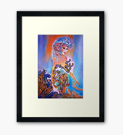 Midnight Sun Framed Print