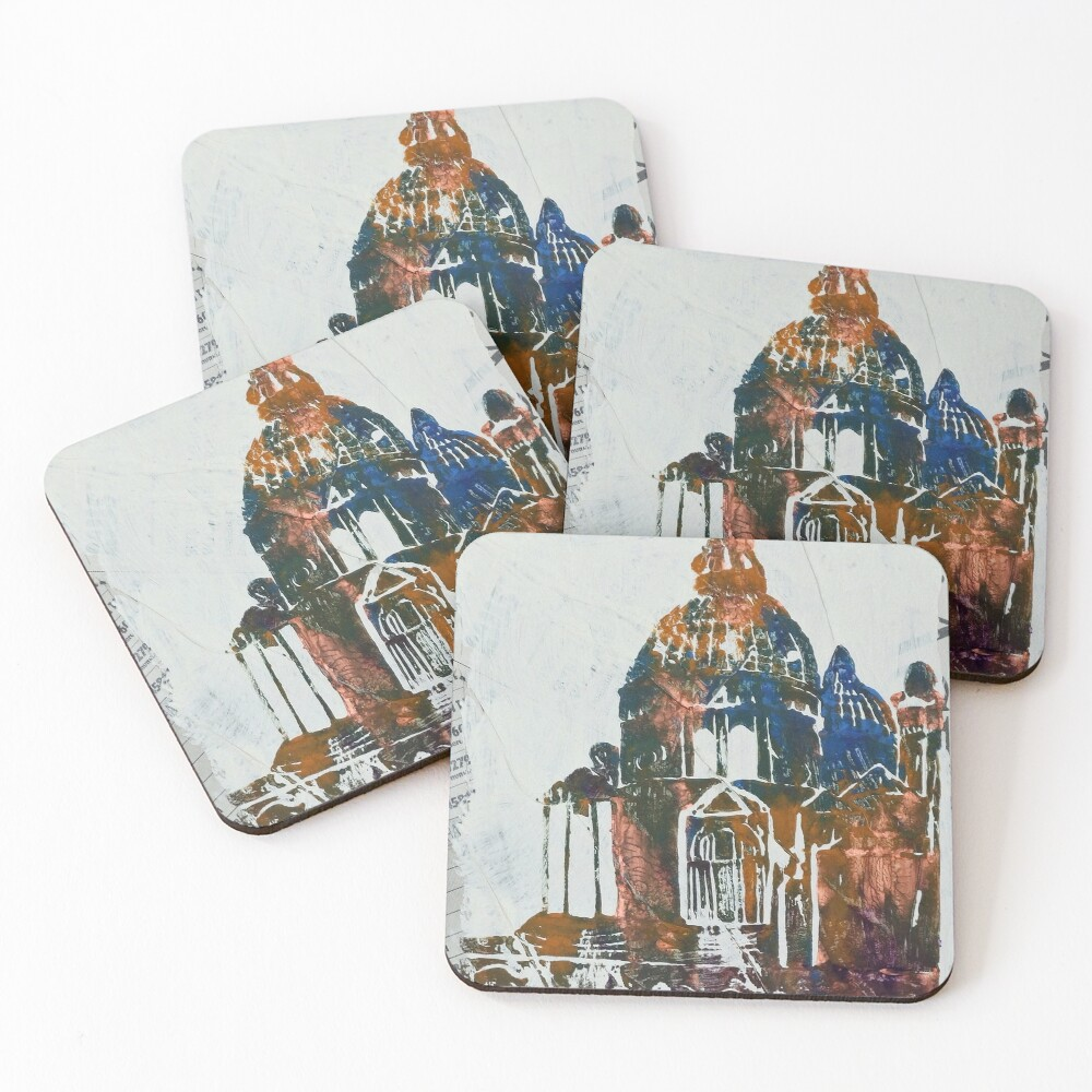 Salute Church - Venice, Italy Coasters (Set of 4)