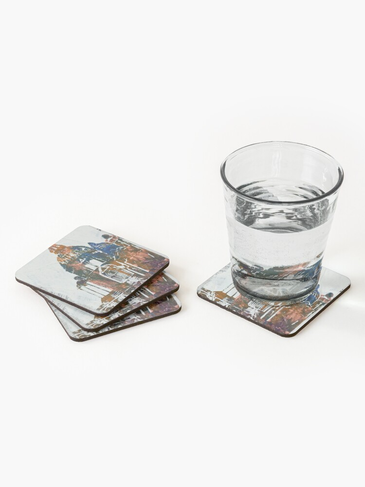 Alternate view of Salute Church - Venice, Italy Coasters (Set of 4)