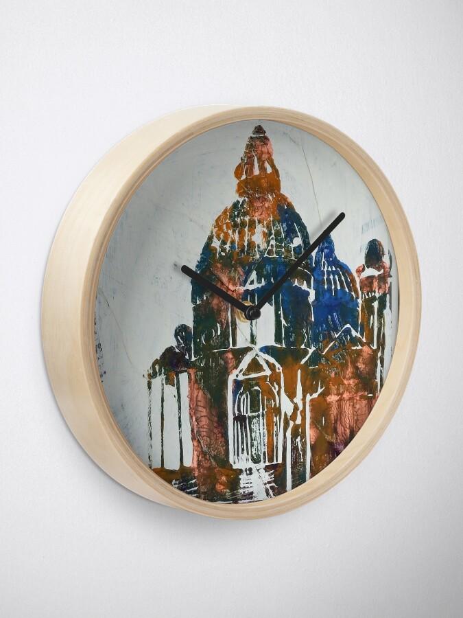 Alternate view of Salute Church - Venice, Italy Clock