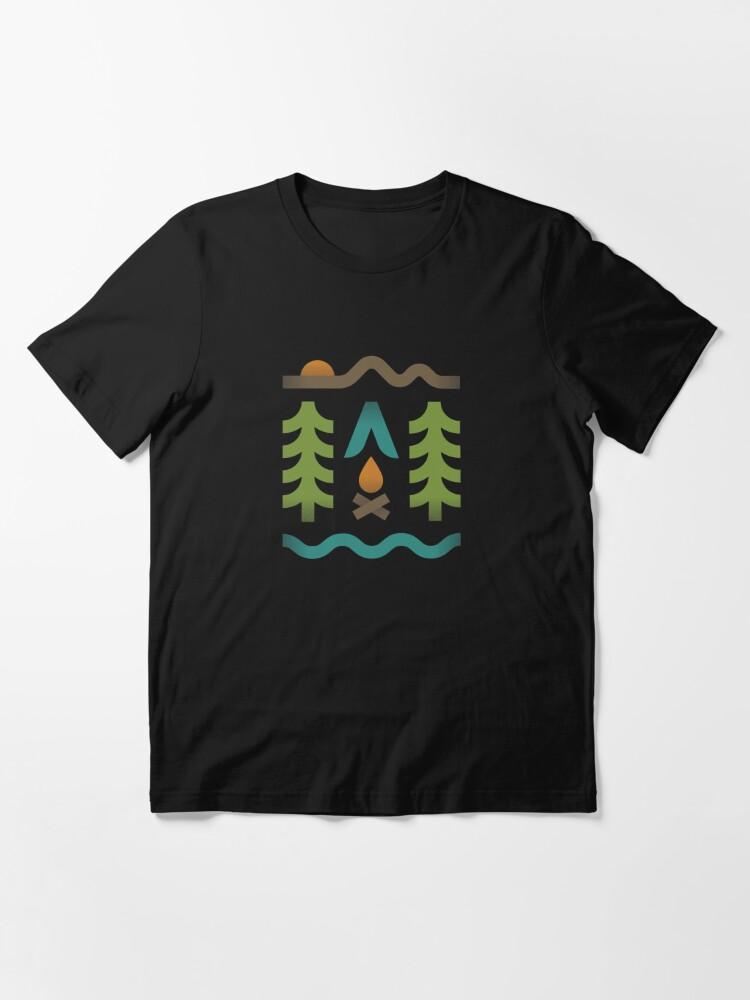 Alternate view of Simple Pleasures Essential T-Shirt