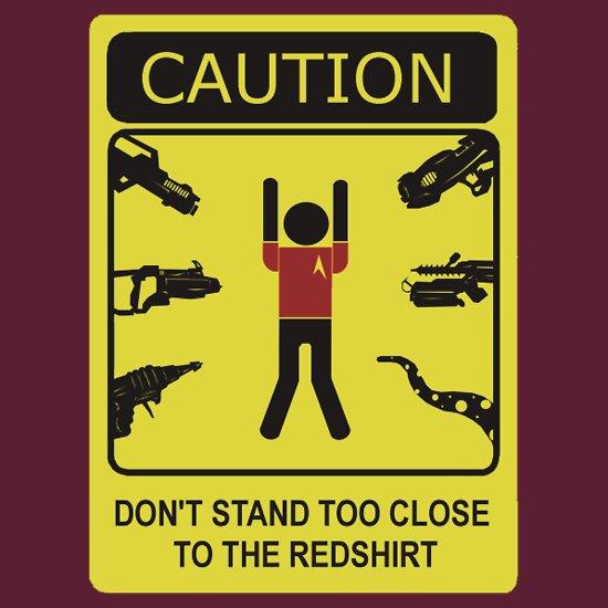 TShirtGifter presents: Redshirt Danger Zone