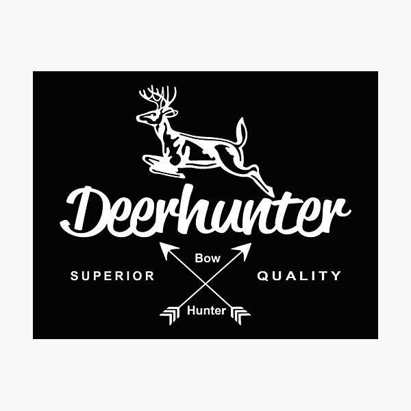 Bow & Crossbow Deer Hunter Photographic Print