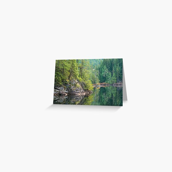 A Reflective Day Greeting Card