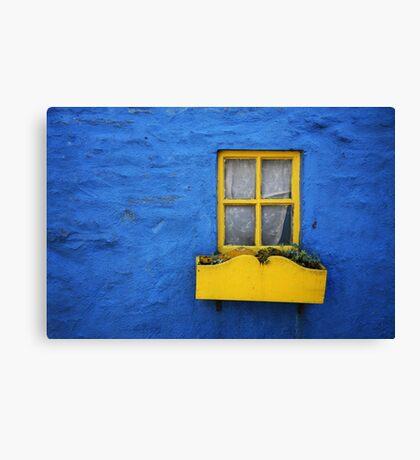 Kinsale Window Canvas Print