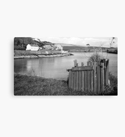 Summercove Cottage Canvas Print