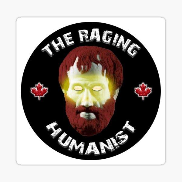 Raging Humanist Sticker Sticker