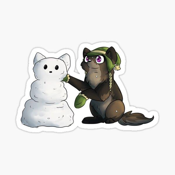 LIMITED Lil Ardy Sticker - Snowman Sticker