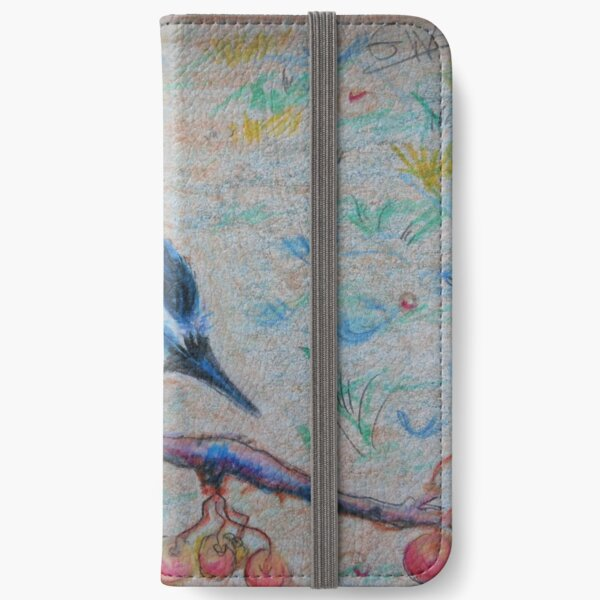 In the Blue iPhone Wallet