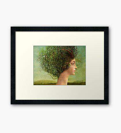 mystic tree Framed Print