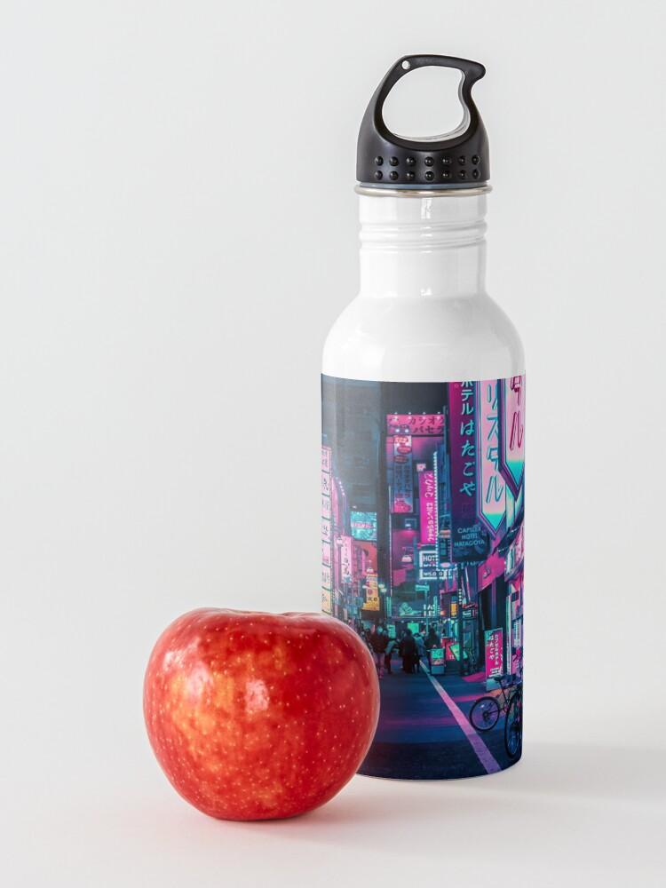 Alternate view of Tokyo - A Neon Wonderland  Water Bottle