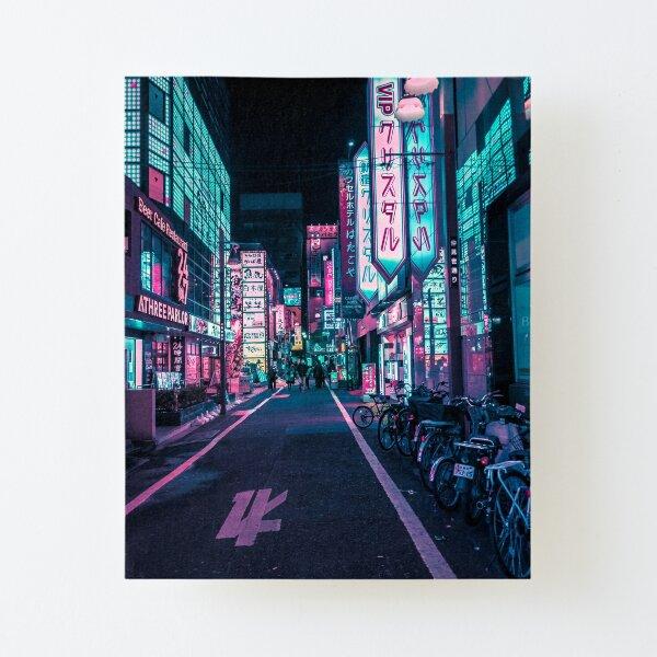 Tokyo - A Neon Wonderland  Canvas Mounted Print