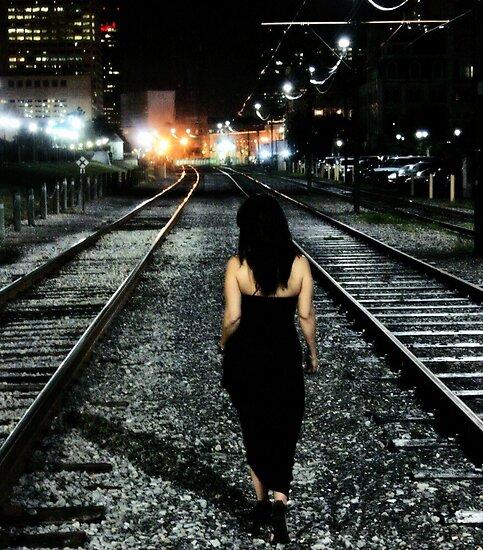 I walk alone... by luckylarue
