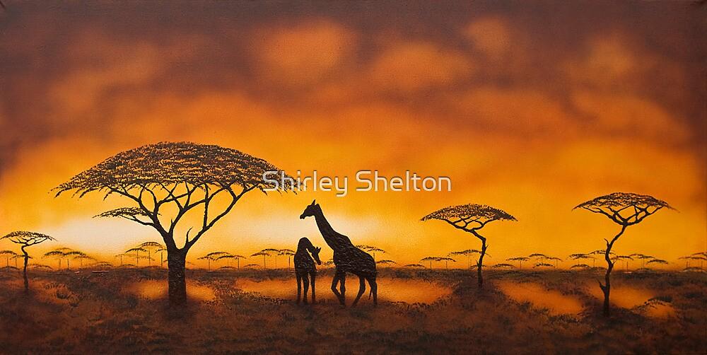 Golden Savannah by Shirley Shelton