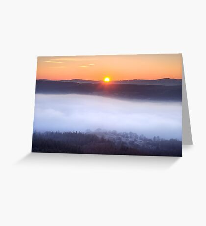 The inevitable sunset Greeting Card