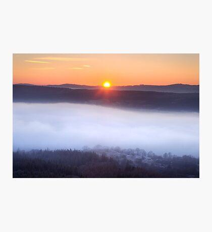 The inevitable sunset Photographic Print