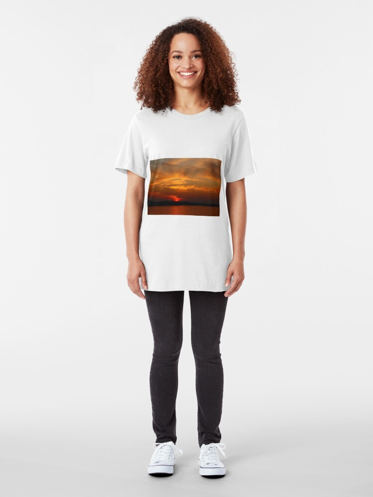 Alternate view of End of Day Western New York-Style Slim Fit T-Shirt