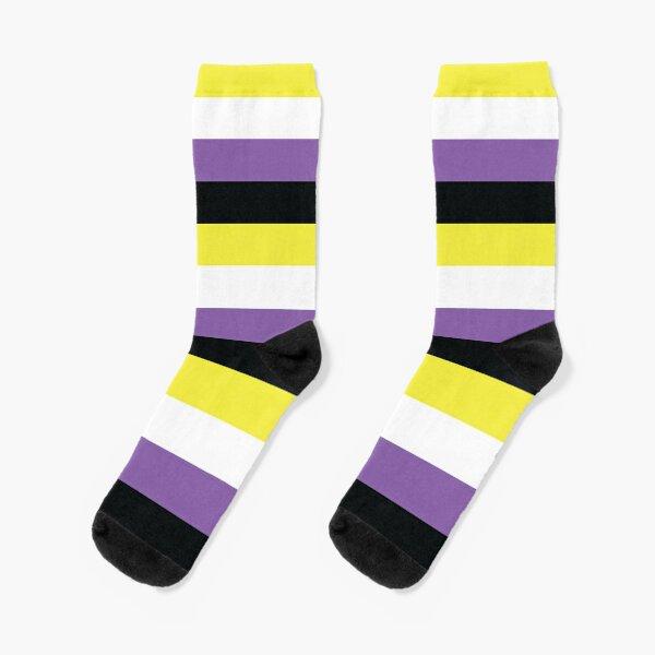 Non-Binary Pride Flag Socks