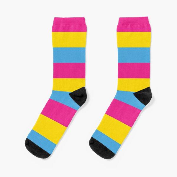 Pansexual Pride Flag Socks