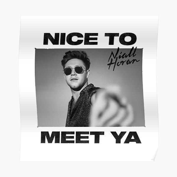 Threenal Niall Encantado de conocer Ya North American Tour 2020 Póster
