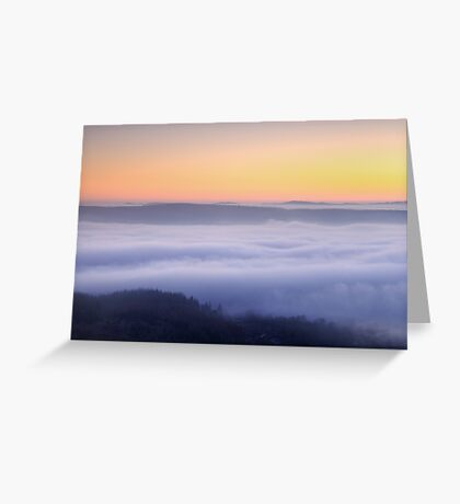 Into the distance Greeting Card