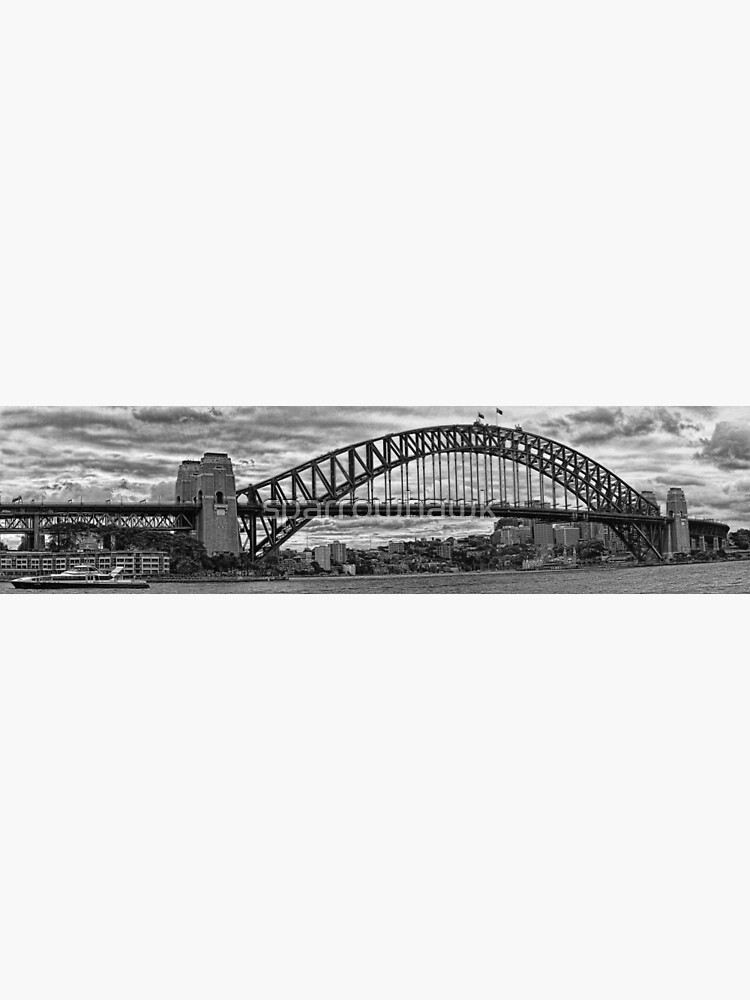 Sydney Harbour Bridge Panorama by sparrowhawk