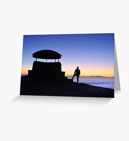 The Mushroom Shelter -  Scout Scar Greeting Card