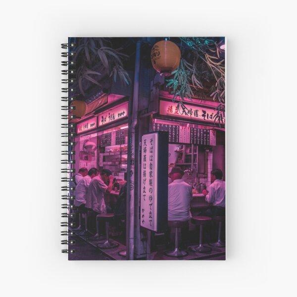 Tokyo's Ramen Corner Spiral Notebook