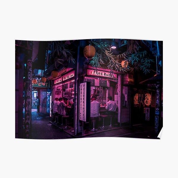 Tokyo's Ramen Corner Poster