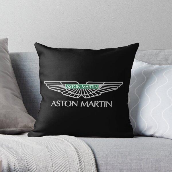 AM supercar logo grey Throw Pillow