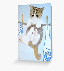 Just hanging around! Greeting Card