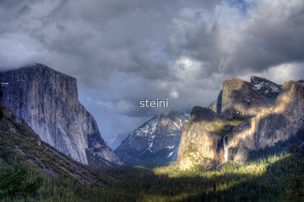 Light on Yosemite by steini
