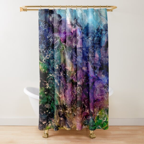 Winter's approach Shower Curtain