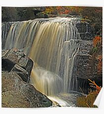 Hambleton Dyke Waterfall Poster