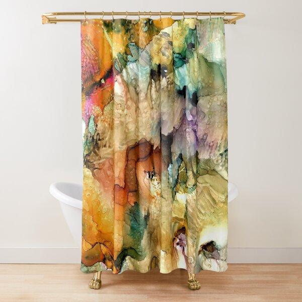La Costiera Amalfitana Shower Curtain