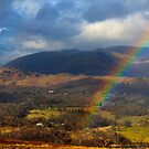 Rainbow and a Lakeland vista by Shaun Whiteman