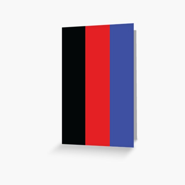 Polyamory Pride Flag Vertical Greeting Card