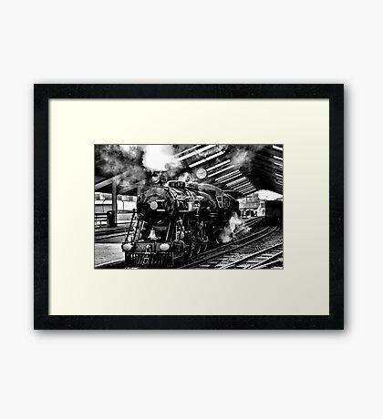 The Engine Shed Framed Print