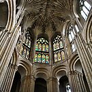 Norwich Cathedral. by richard  webb