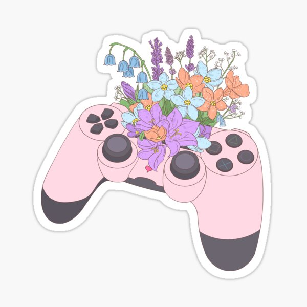 Play Pink Sticker
