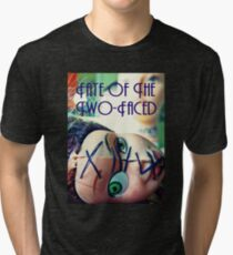 Fate of the Two-Faced Tee Tri-blend T-Shirt