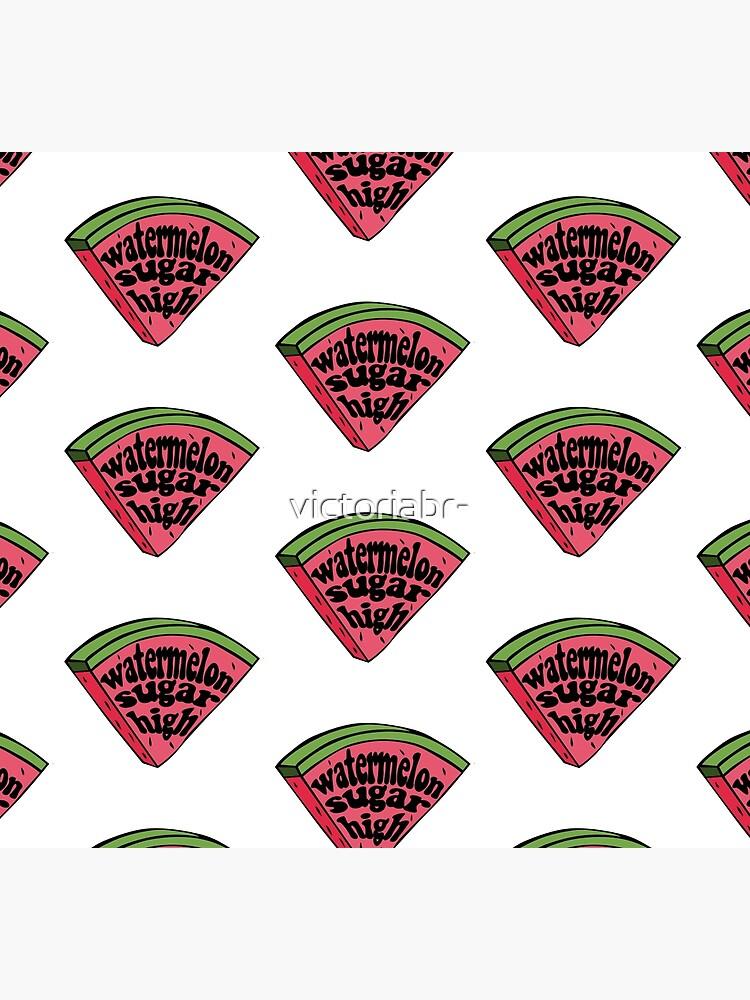 harry styles watermelon sugar (red melon slice) by victoriabr-