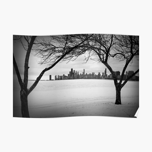 Winter Chicago Poster