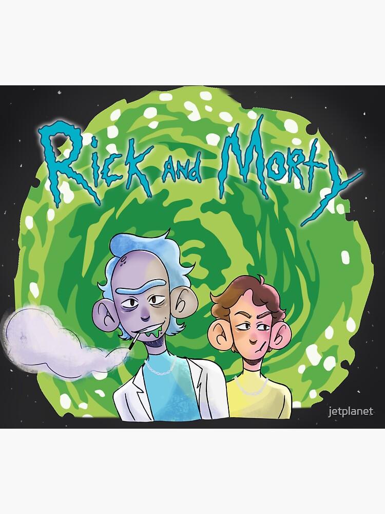 Rick & Morty [on crack] by jetplanet