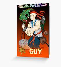 Gamer Guy Greeting Card