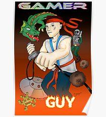 Gamer Guy Poster
