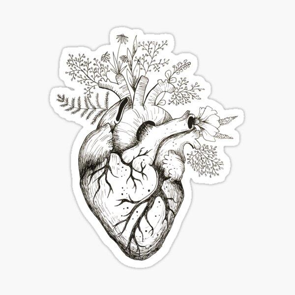 Heart Overgrowth Sticker