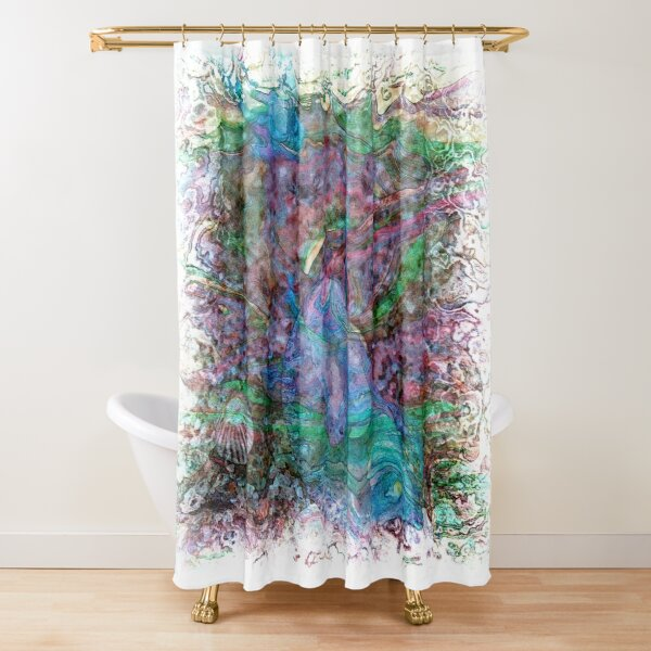 The Atlas Of Dreams - Color Plate 70 Shower Curtain