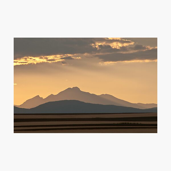 Gold In The Hills Photographic Print