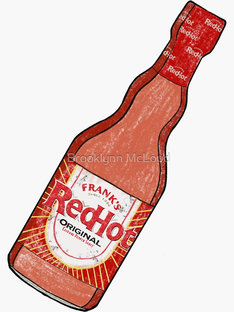Let Me Be Frank's Red Hot Sauce by 700819bm